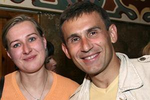 Robert Korzeniowski i Agnieszka Korzeniowska.