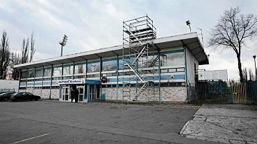 Stadion Hutnika w remoncie