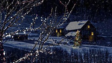 Boże Narodzenie, święta, śnieg, zima