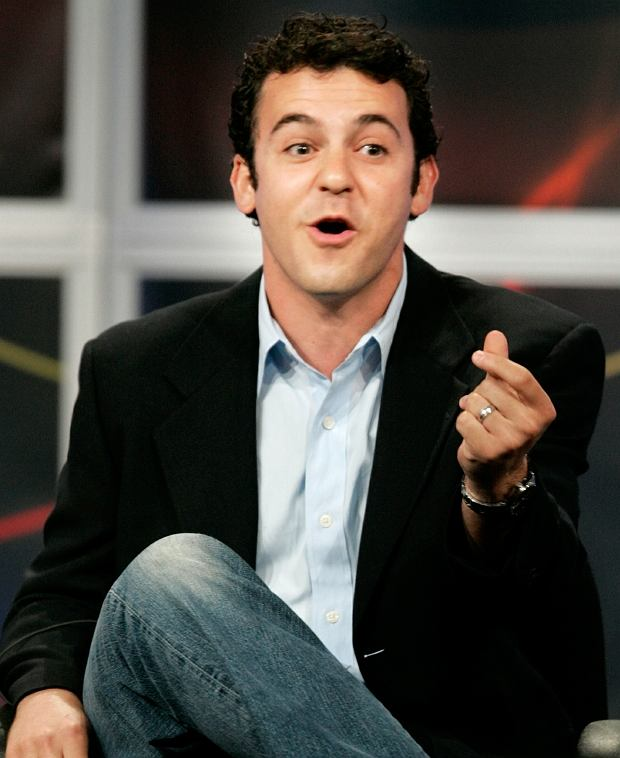 "Actor Fred Savage, star of the new ABC television comedy series ""Crumbs"", answers questions from television critics during the ABC Summer press tour hosted by the Television Critics Association in Beverly Hills July 26, 2005. Savage stars as a gay screenwriter who reunites with his estranged brother to deal with their mother, played by Jane Curtin, who is being discharged from a psychiatric facility. REUTERS/Fred Prouser"