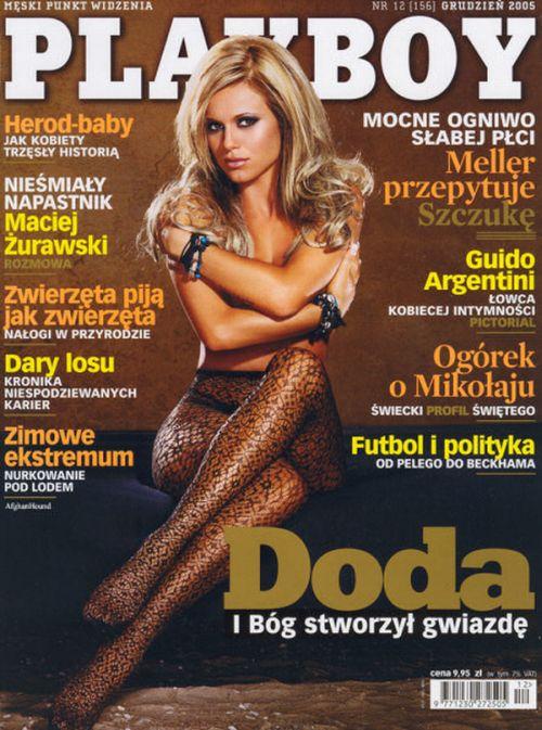 Doda, Playboy