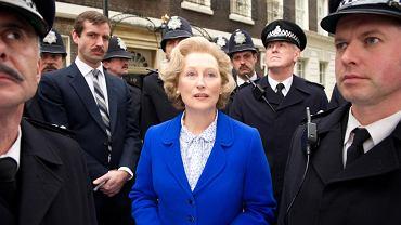 Film ''Żelazna Dama''. Meryl Streep w roli  Margaret Thatcher