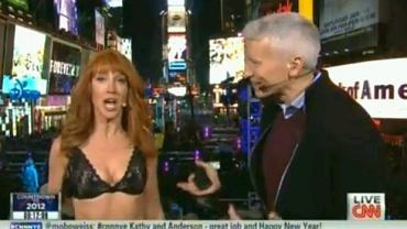 Kathy Griffin i Anderson Cooper.