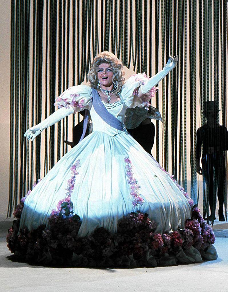 Wielka diva estrady była gwiazdą m.in. Casino de Paris w Las Vegas.