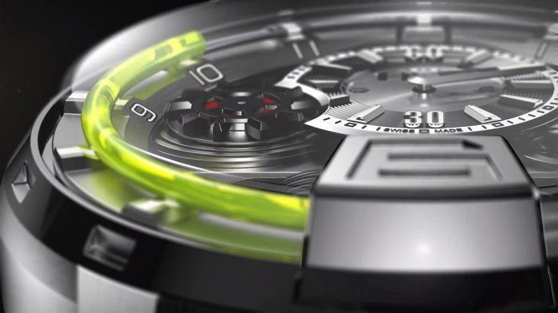 H1 Hydro Mechanical Watch