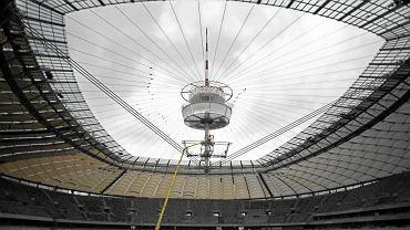 Otwarty dach Stadionu Narodowego