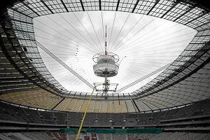 Dach na Stadionie Narodowym nie zamyka się podczas mrozu