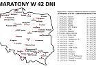 42 maratony w 42 dni - August Jakubik i Mariusz Szostak biegną po rekord