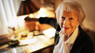 Marzec 2009 r., Wisława Szymborska w swym mieszkaniu