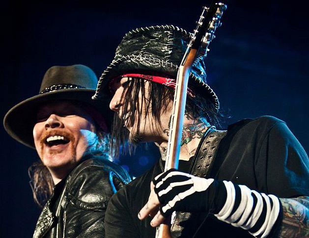 Guns N' Roses, fot. Facebook