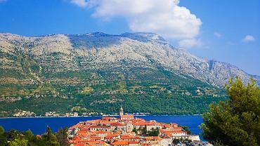Chorwacja galeria - wyspa i miasto Korcula