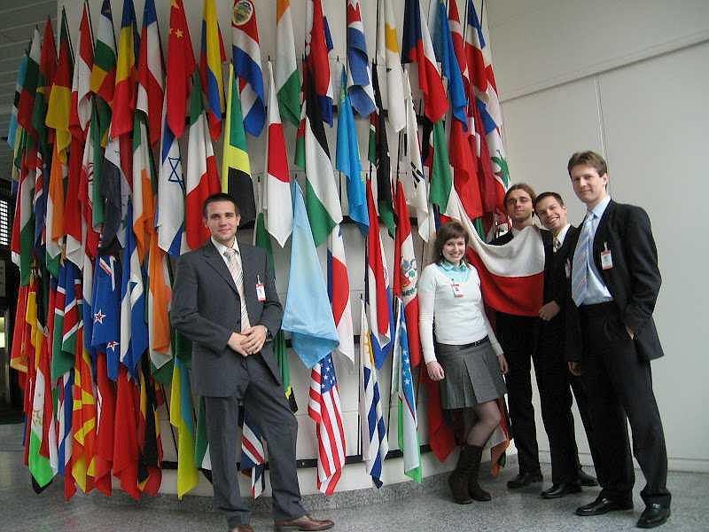 Delegacja ze SKA na COPOUS w Wiedniu