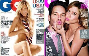 Jennifer Aniston, Paul Rudd, gwiazdy nago, bielizna gwiazd, GQ