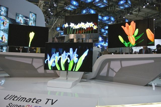 Telewizory Samsung OLED na targach CES 2012