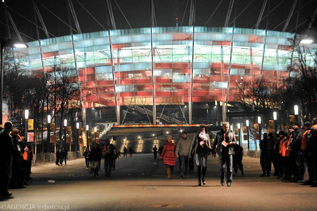 Stadion Narodowy w Warszawie podczas meczu otwarcia Polska-Portugalia