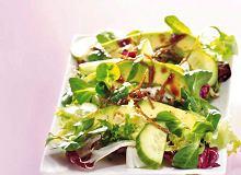 Sałatka z awokado i imbirem - ugotuj