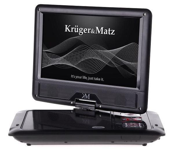 Przenośny odtwarzacz DVD Krüger&Matz KM0001