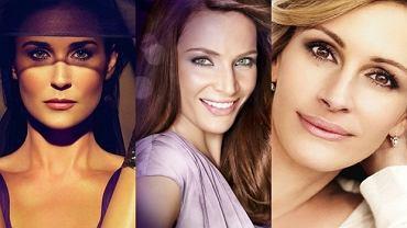 Demi Moore, Anna Dereszowska, Julia Roberts.