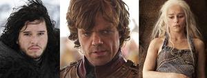 Bohaterowie 2. sezonu ''GoT'', gra o tron, jon snow, tyrion lannister, daenerys targeryen