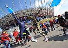 34. Maraton Warszawski - atrakcje dla kibiców na mecie na Stadionie Narodowym
