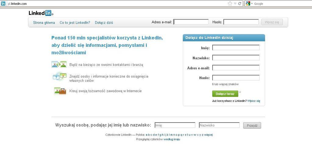 LinkedIn już po polsku