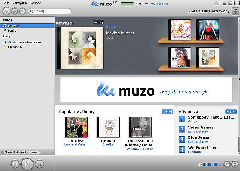 Aplikacja Muzo.pl
