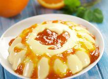 Jogurtowo-pomarańczowa panna cotta - ugotuj