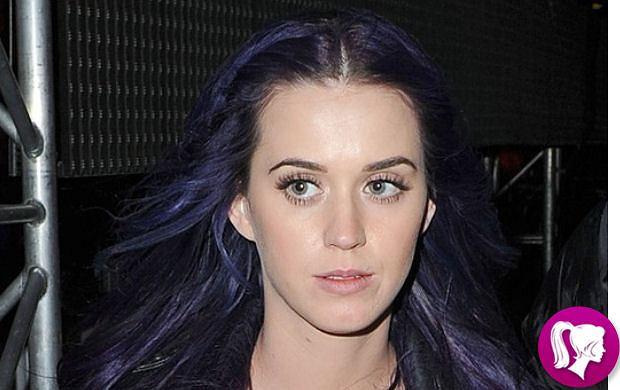 Fioletowe włosy Katy Perry - hit czy kit?