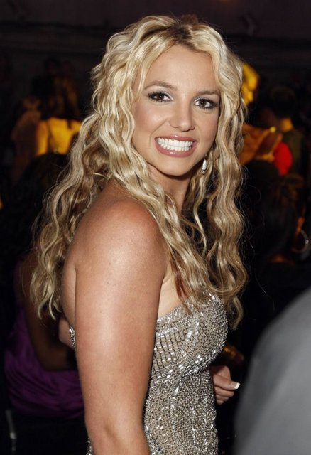 ** FILE ** In this Sept. 7, 2008 file photo, Britney Spears is seen at the 2008 MTV Video Music Awards held at Paramount Pictures Studio Lot in Los Angeles. (AP Photo/Matt Sayles, file)