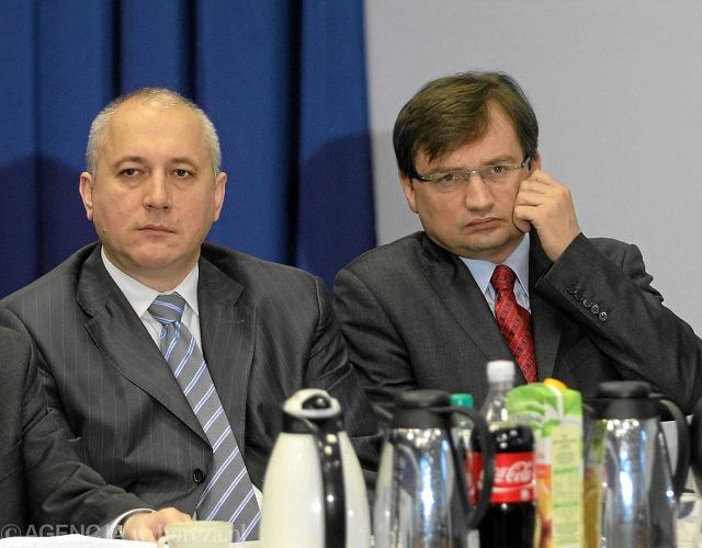 Joachim Brudziński i Zbigniew Ziobro