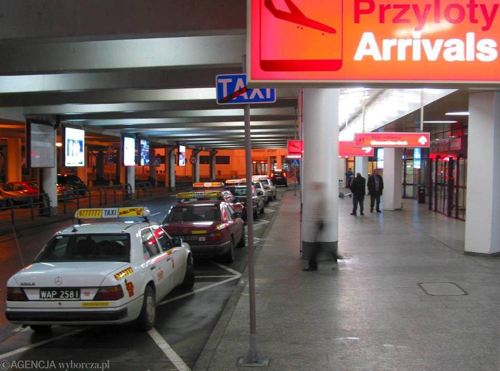 Taksówki na Lotnisku Chopina