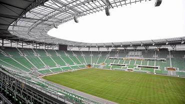 Nowa murawa na Stadionie Miejskim we Wrocławiu, 2011 r.
