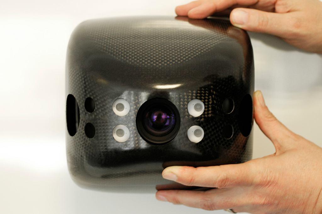 Kamera 3D zapisująca odległości dla każdego piksela