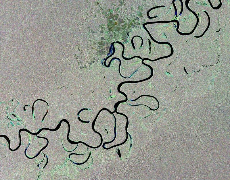 Brazylijskie lasy deszczowe sfotografowane przez satelitę Envisat