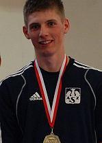 Bartosz Kołecki - brązowy medalista Mistrzostw Europy
