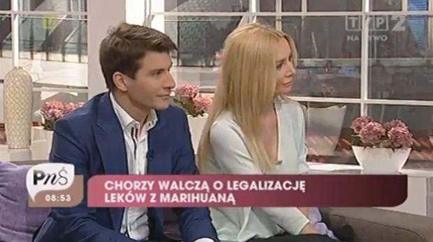 Tomasz Kammel i Agnieszka Szulim