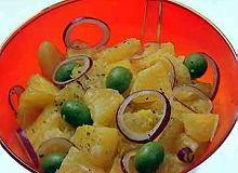 Sałatka sycylijska z pomarańczy - ugotuj