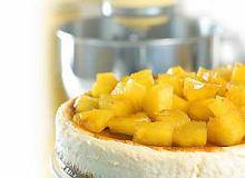 Sernik z ananasami - ugotuj