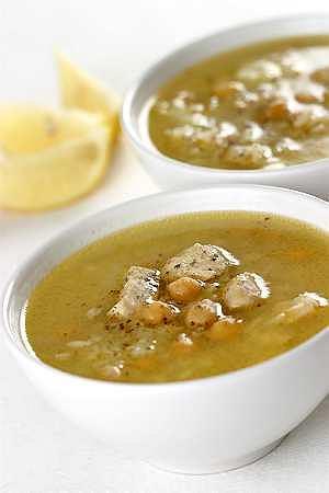 Harira (arabska zupa z kurczaka i ciecierzycy)