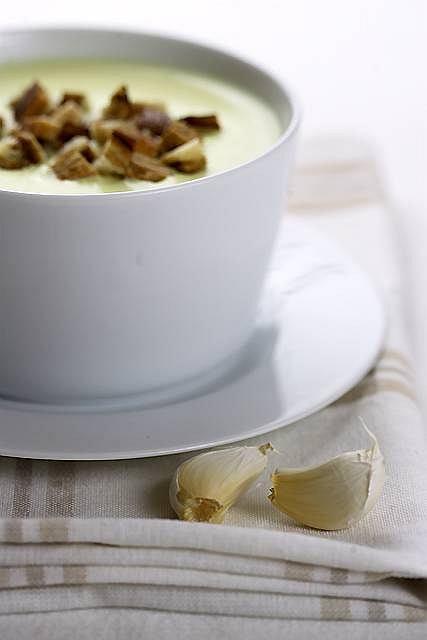 Menu dnia ze wzmacniającą zupą