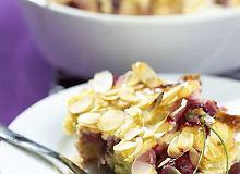 Zapiekanka serowa z wiśniami - ugotuj
