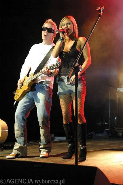 Doda i Tomasz Lubert na koncercie w Opolu
