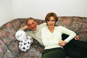 Dariusz Szpakowski z żoną i trzema kochankami.