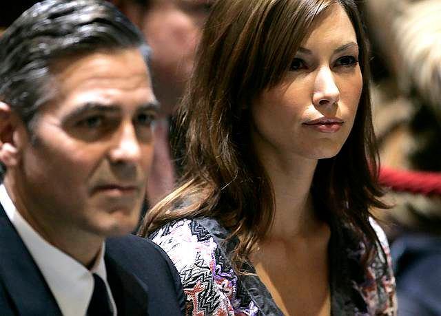 George Clooney,Sarah Larson