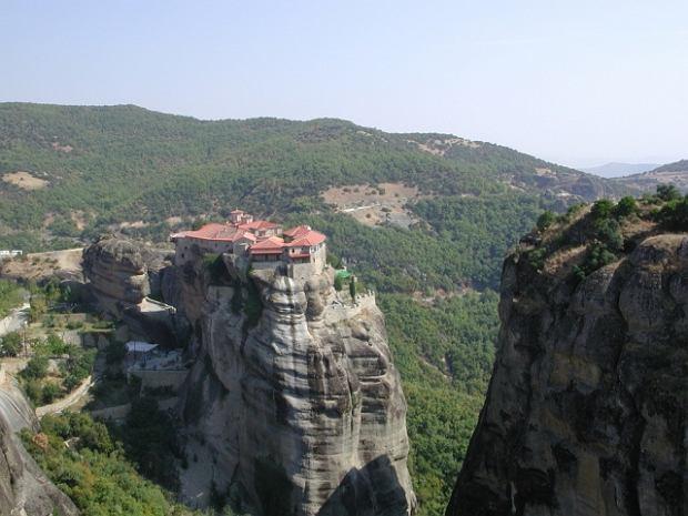 Grecja. Meteory - klasztory zawieszone w powietrzu