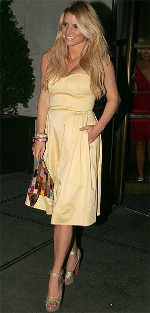 Jessica Simpson fot. Ryan Turgeon / Splash News/East News