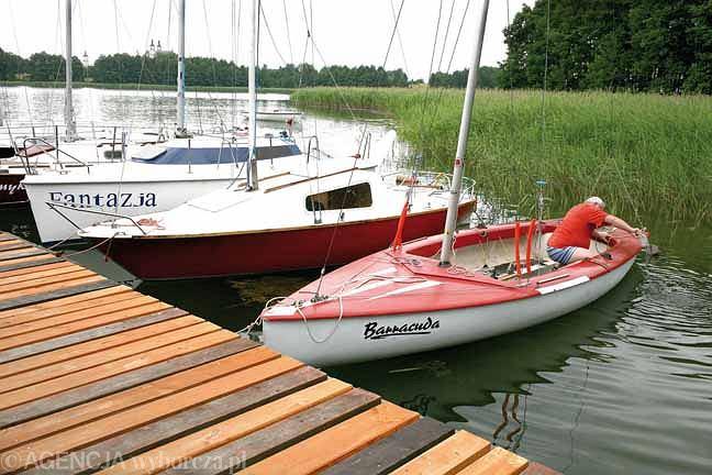 Jezioro Wigry do doskonałe miejsce do żeglowania