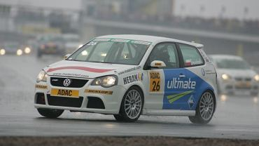 Maciej Steinhof na torze Sachsenring