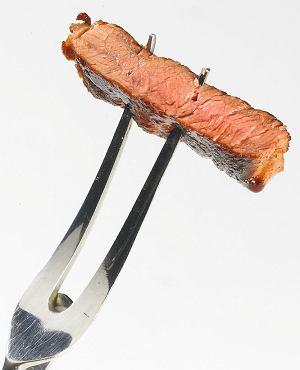 Well done - stek mocno wysmażony