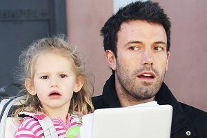 Ben Affleck z córką